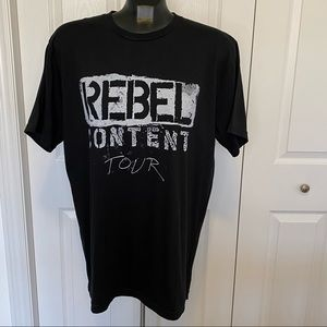Neil Young Rebel Content Tour Concert Large